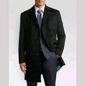 Pronto-Uomo Nordstrom Wool Cashmere Overcoat Long